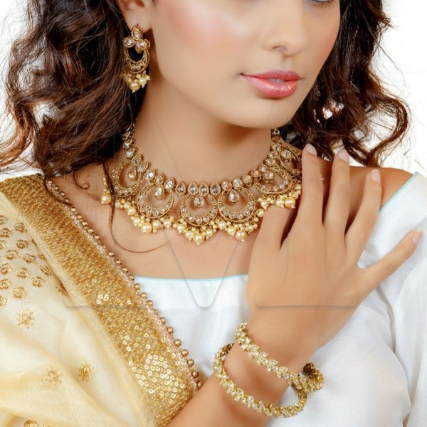 Sushmita Polki Necklace Set