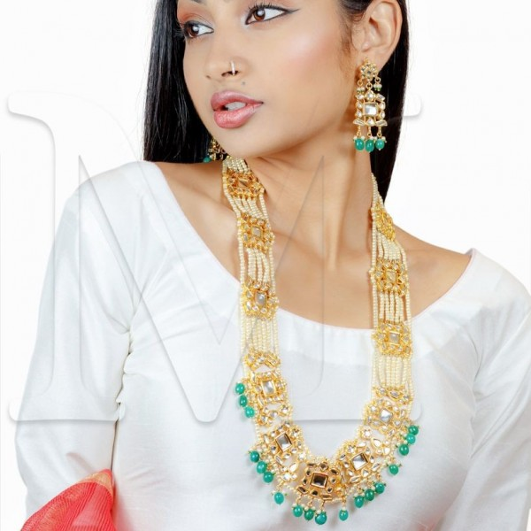 Padmini Kundan Necklace Set