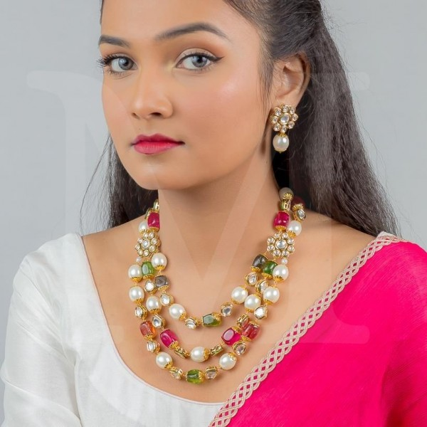Sabrina Kundan Necklace